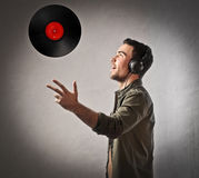 Play with music Stock Image