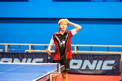 Play ping pong Stock Photography