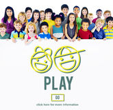 Play Playing Playground Activity Hobby Concept Stock Image