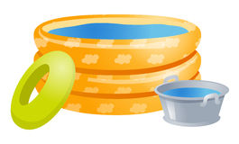 Play pools Stock Photography