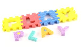 Play puzzle Royalty Free Stock Photography