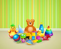 Play room background Stock Photo
