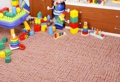 Play room. With many toys Stock Photo