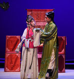 "The play small temper-Kunqu Opera ""the West Chamber"" Royalty Free Stock Images"