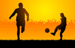 Play soccer Royalty Free Stock Images