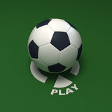 Play soccer Royalty Free Stock Image