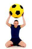 Play soccer, football Stock Image