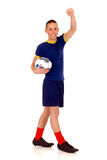 Play soccer, football Stock Photo