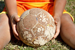 Play soccer. Stock Image