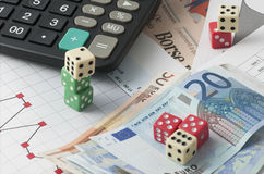 Play the stock market Stock Images