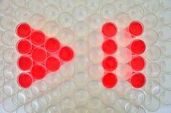 Play symbol Stock Photos