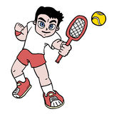 Play tennis Royalty Free Stock Photo