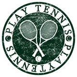 Play Tennis Royalty Free Stock Photos