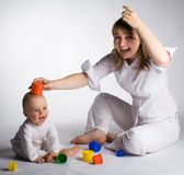 Play time Royalty Free Stock Photography