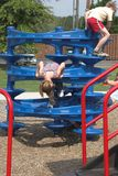 Play Time. Children in play area, in park,Tennesse Royalty Free Stock Photography