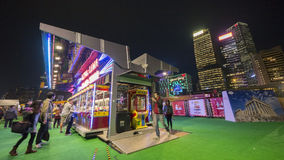 Play-Time Booth - The Great European Carnival 2014, Hong Kong Stock Images