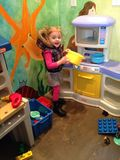 Play time preschool Stock Photo