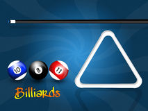 Play to billiards Royalty Free Stock Image