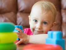 Play with toys Stock Images