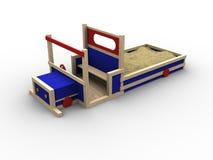 Play Truck vector illustration