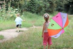 Free Play With Umbrella Royalty Free Stock Photos - 3030978