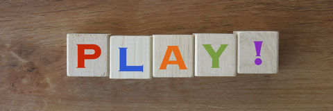 Play! Stock Photo