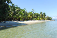 Playa布朗卡海滩在利文斯通附近的 库存照片