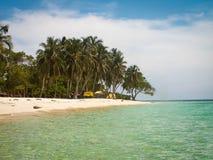 Playa布朗卡海滩 免版税库存照片