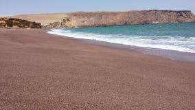Playa罗娅,秘鲁 库存照片