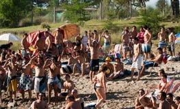 Playa迈阿密圣罗莎de Calamuchita 库存照片