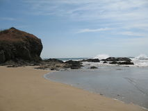 Playa重创的哥斯达黎加 免版税库存图片