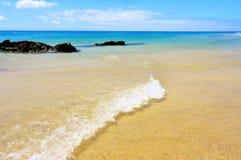 playa νησιών fuerteventura esmeralda καναρινιών Στοκ Εικόνες