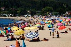 playa της Χιλής de dichato Στοκ εικόνα με δικαίωμα ελεύθερης χρήσης