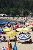 playa της Χιλής de dichato Στοκ Εικόνα