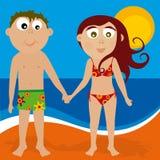 Playa 03 (vector) Royalty Free Stock Photo