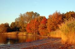 Playa 1043 del otoño Imagen de archivo libre de regalías