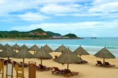 Playa Foto de archivo libre de regalías