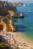 Playa 12 de Portugal Imagen de archivo libre de regalías