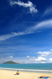 Playa Fotografía de archivo libre de regalías