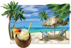 Playa libre illustration