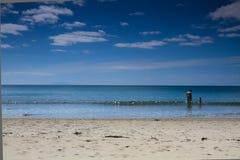 Playa abandonada 2 Foto de archivo