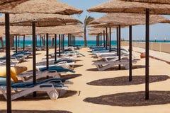 Playa abandonada Imagen de archivo
