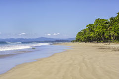 Playa abandonada Foto de archivo libre de regalías