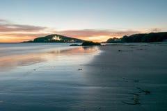 Playa abandonada Fotos de archivo