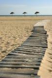 Playa Acess del paraíso Foto de archivo