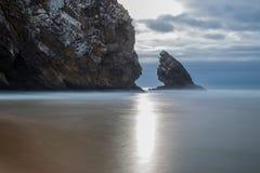 Playa Adraga Fotos de archivo libres de regalías