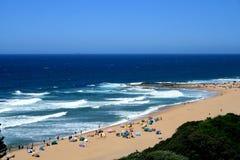 Playa africana Imagen de archivo libre de regalías