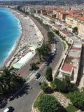 Playa agradable Fotografía de archivo libre de regalías