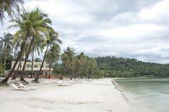 Playa agradable de Bai Sao, Phu Quoc Foto de archivo libre de regalías