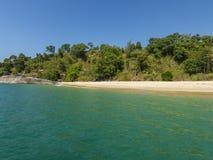 Playa agradable en Birmania foto de archivo libre de regalías